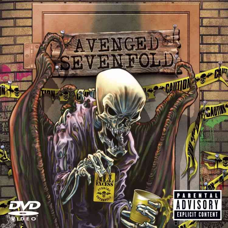ALL EXCESS BY AVENGED SEVENFOLD (DVD)